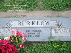 Ira Bee Burklow
