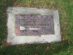 Gertrude E Ashbaugh