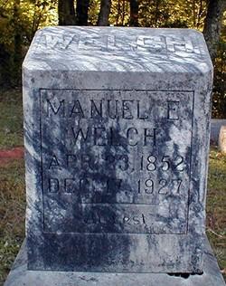 Manuel Ervin Welch