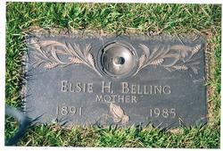 Elsie Hattie <i>Kamke</i> Belling