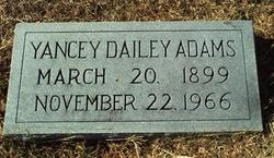 Yancey Dailey Adams