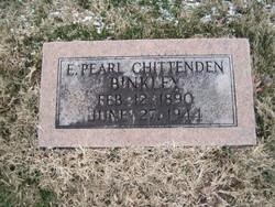 Edith Pearl <i>Chittenden</i> Binkley