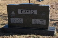 Bert E Red Davis