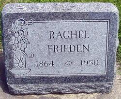 Emilie Rachel <i>Schneider</i> Frieden