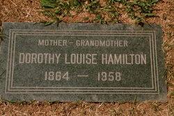Dorothy Louise <i>Vaughn</i> Hamilton