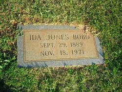 Ida <i>Jones</i> Bobo