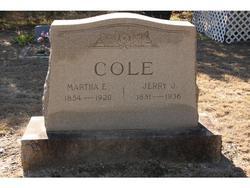 Martha Ellen Ellen <i>Stansell</i> Cole