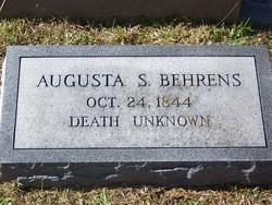 Augusta S Behrens