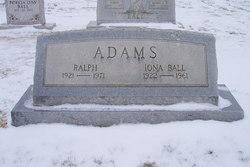Iona <i>Ball</i> Adams