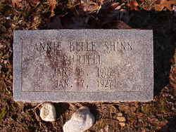 Annie Belle <i>Shinn</i> Purtell