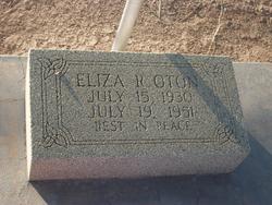 Eliza R. Oton