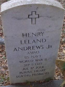 Henry Leland Andrews, Jr