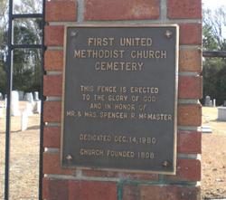 First United Methodist Cemetery