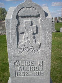 Alice Mae <i>Quackenbush</i> Allison