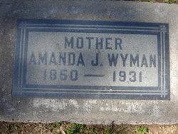 Amanda J <i>Wagner</i> Wyman