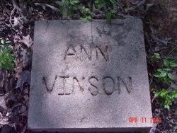 Martha Ann Vinson