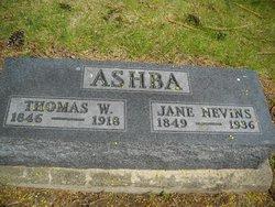 Jane <i>Nevins</i> Ashba