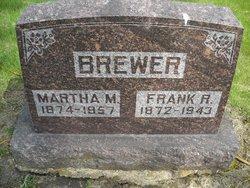 Martha M. <i>Ewald</i> Brewer