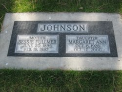 Bessie <i>Fullmer</i> Johnson