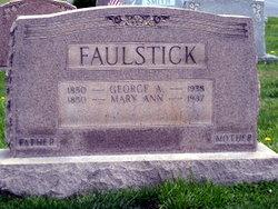 Mary Ann <i>Altemus</i> Faulstick
