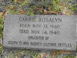 Carrie Rosalyn Nettles