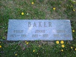 Jennie <i>Davis</i> Baker