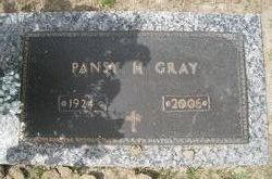 Pansy H Gray