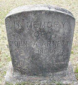 John A Arnett