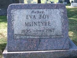 Eva <i>Foy</i> McIntyre