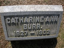 Catherine Ann <i>Cape</i> Burr