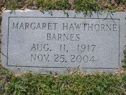 Margaret <i>Hawthorne</i> Barnes