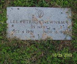 Lee Petrich Newnam, I