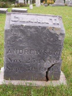 Clara T Andrewson