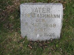 Friedrick W Fred Ashmann