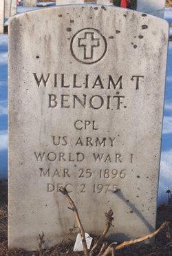 William T Benoit