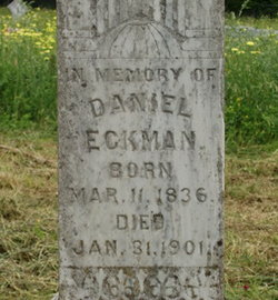 Daniel Webster Eckman, Sr