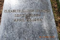 Elizabeth Patterson <i>Ellison</i> Dismukes