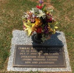 SPC Jamaal Rashard Addison