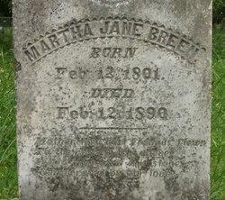 Martha Jane Breen