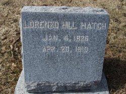 Lorenzo Hill Hatch