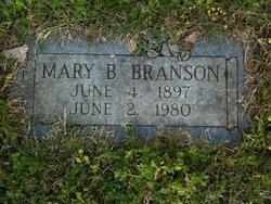 Mary Blanch Branson