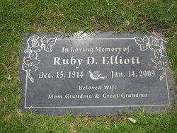 Ruby Dorene <i>Clary</i> Elliott