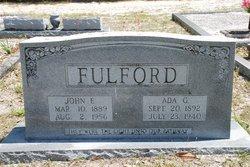 Ada Gertrude <i>Bellamy</i> Fulford