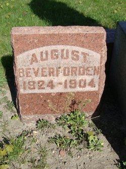 August Beverforden