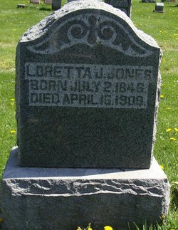 Loretta Jane <i>McClure</i> Jones