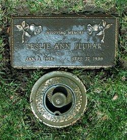 Leslie Ann Pluhar