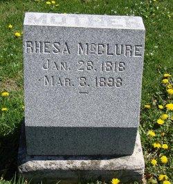 Rhesa <i>Carter</i> McClure