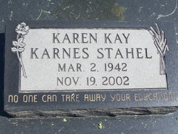 Karen Kay Stahel