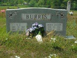 Dora Lillian <i>Davis</i> Burris