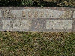 Margaret Malinda <i>Wharton</i> Burris